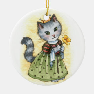 Princess Poppy - Cute Cat Ornament