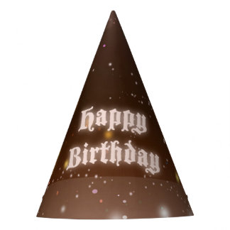 Princess Priya Birthday Party Hat