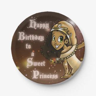 """Princess Priya Paper Plates 7"" 7 Inch Paper Plate"