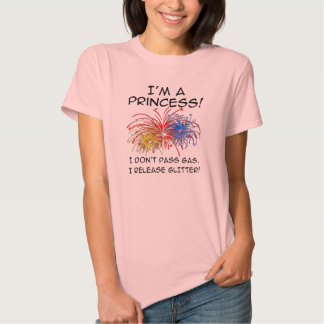 Princess Release Glitter Funny T-Shirt