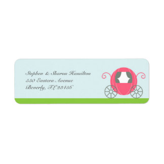Princess Return Address Labels