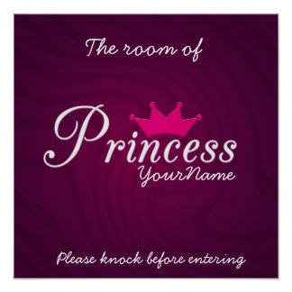 Princess Room Poster