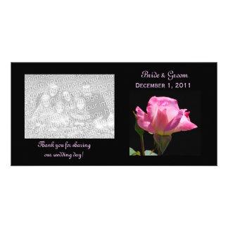 Princess Rose Thank You Photo Cards