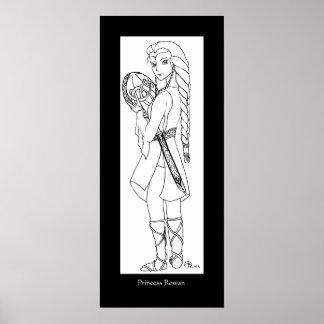Princess Rowan Poster