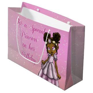 Princess Serena Birthday Gift Bag - Large, Glossy Large Gift Bag