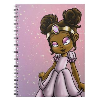 """Princess Serena"" Spiral Notebooks"