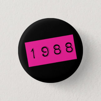 Princess since 1988 3 cm round badge