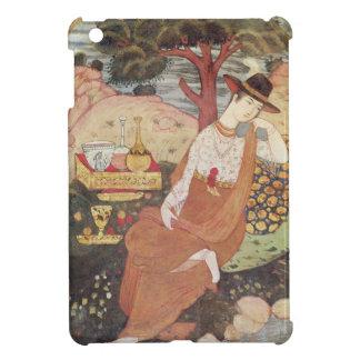 Princess sitting in a garden, Safavid Dynasty iPad Mini Covers