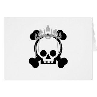 Princess Skulls Card