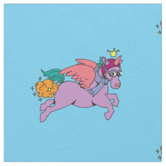 Princess SparkleFarts Fabric