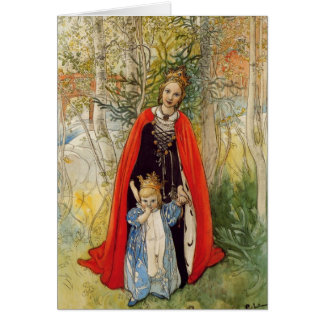 Princess Spring Mother and Daughter Card