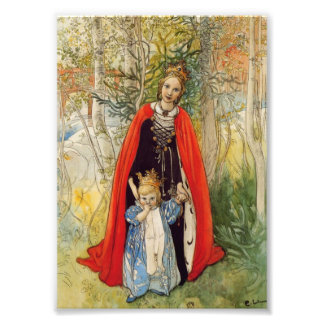 Princess Spring Mother and Daughter Photo Print