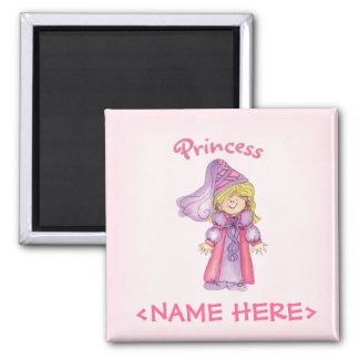 Princess Square Magnet