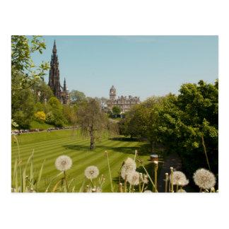 Princess Street Gardens Postcard