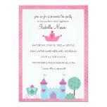 Princess Tea Party Invitations