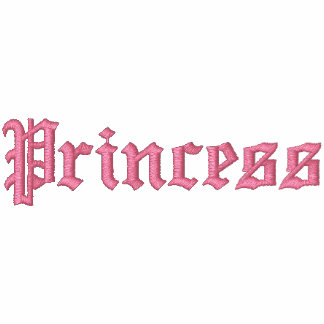 Princess: The daughter of the King of Kings Embroidered Hoodie