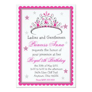 Princess Tiara Birthday Invitation