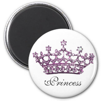 Princess Tiara Gem magnet