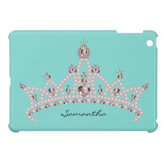 Princess Tiara Rhinestone Crown iPad Mini Case