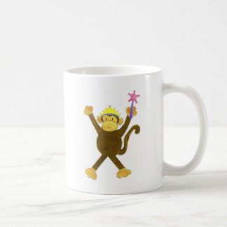 Princess Tumbling Monkey Coffee Mug