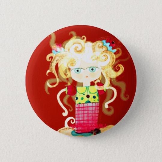 Princess tutu love creepy Kingdom of broken heart 6 Cm Round Badge