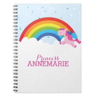 Princess Unicorn Notebook