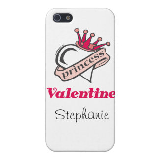Princess Valentine Crown and Heart Cover For iPhone 5