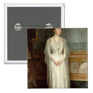 Princess Victoria Eugenie, Queen of Spain 15 Cm Square Badge