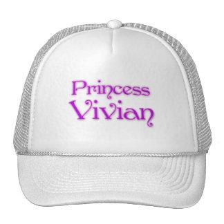 Princess Vivian Mesh Hats