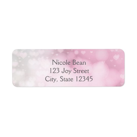 Princess Wand & Crown Silver Pink Address Labels