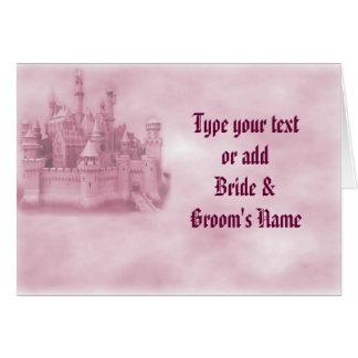 Princess Wedding Invitations Greeting Card