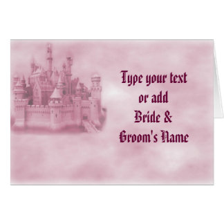 Princess Wedding Invitations Greeting Cards