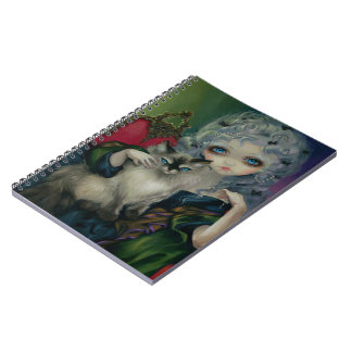 """""""Princess with a Ragdoll Cat"""" Notebook"""
