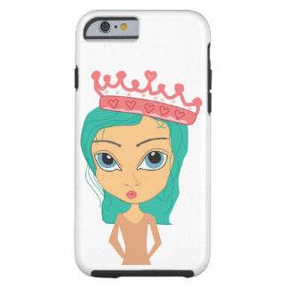 Princess with Crown iPhone Case