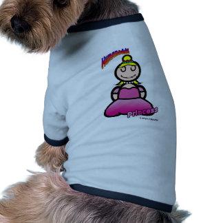 Princess (with logos) doggie shirt