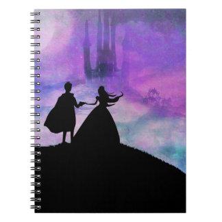 princess with prince Notebook