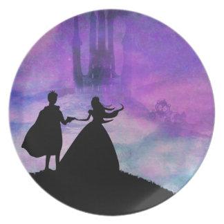 princess with prince Plate