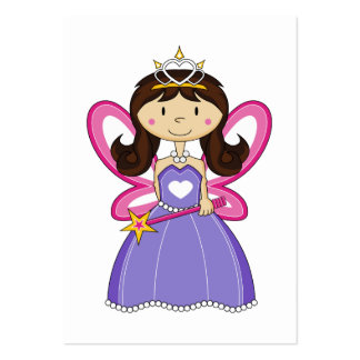 Princess with Wand Bookmark Pack Of Chubby Business Cards