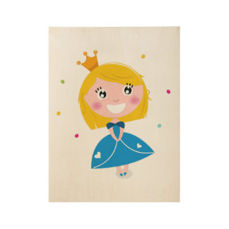 Princess wooden Poster : New art in Shop! Wood Poster