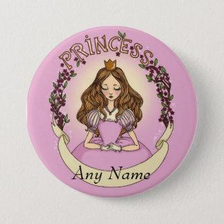 Princesse 7.5 Cm Round Badge