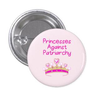 Princesses Against Patriarchy 3 Cm Round Badge