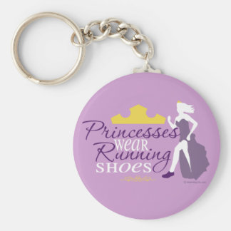Princesses Wear Running Shoes Keychains