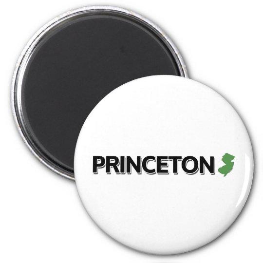 Princeton, New Jersey 6 Cm Round Magnet