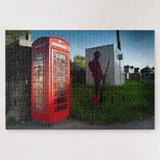 Princetown Telephone Box Jigsaw Puzzle