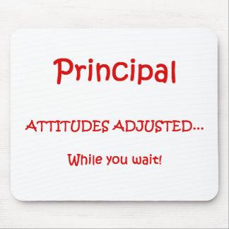 Principal Attitudes Adjusted Mousepad