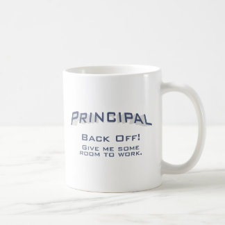 Principal / Back Off Coffee Mug