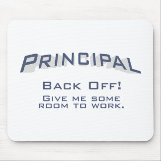 Principal / Back Off Mouse Pad
