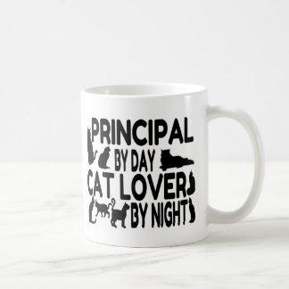 Principal Cat Lover Coffee Mug