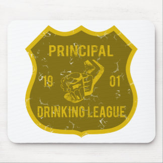 Principal Drinking League Mouse Pad
