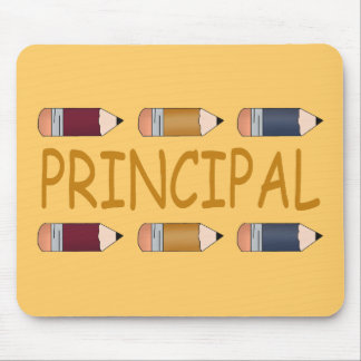 Principal Gift With Pencil Border Mouse Pads